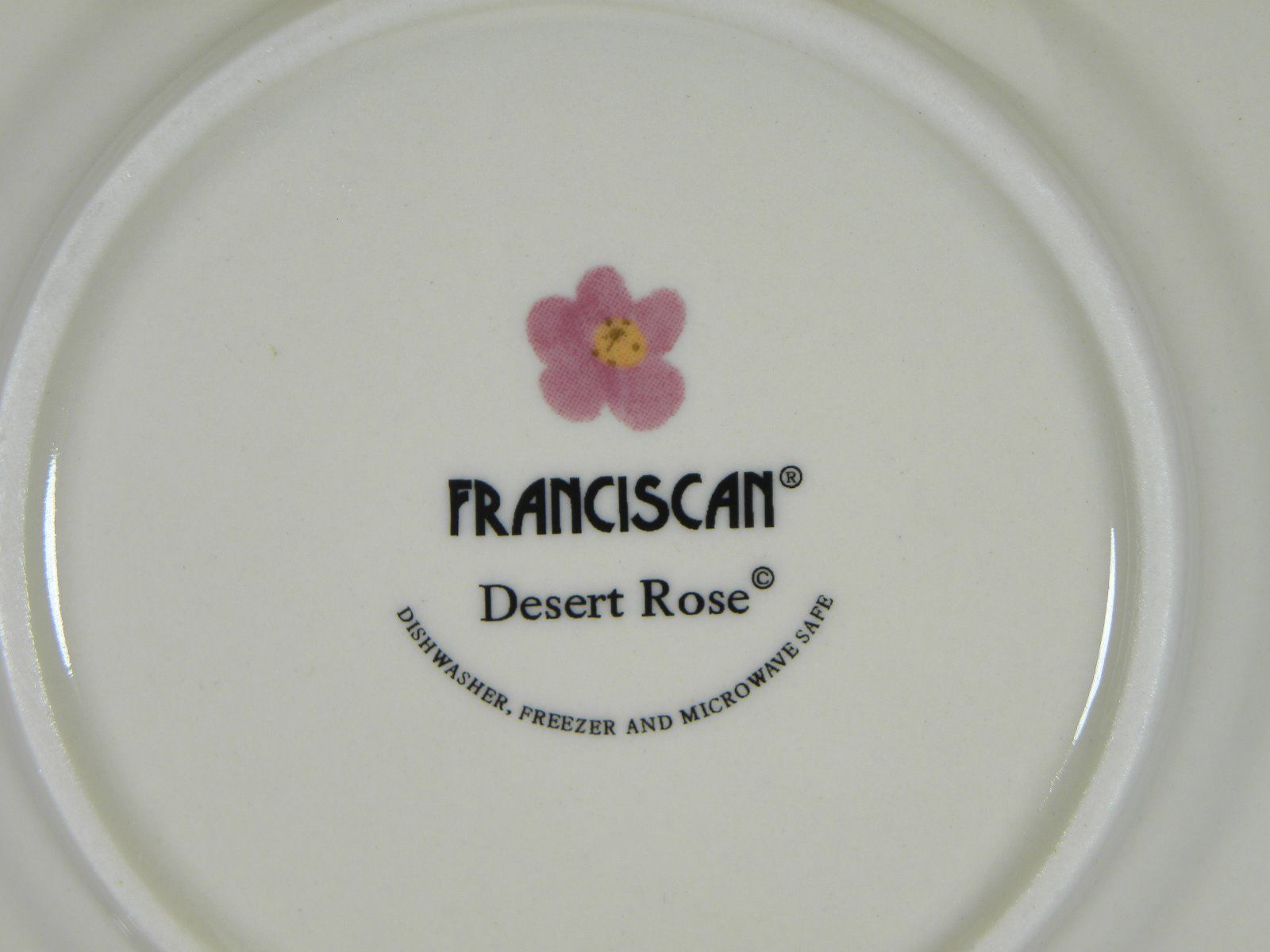 Franciscan Desert Rose Bread & Butter Plates Set of 4 BRAND NEW PRODUCTION