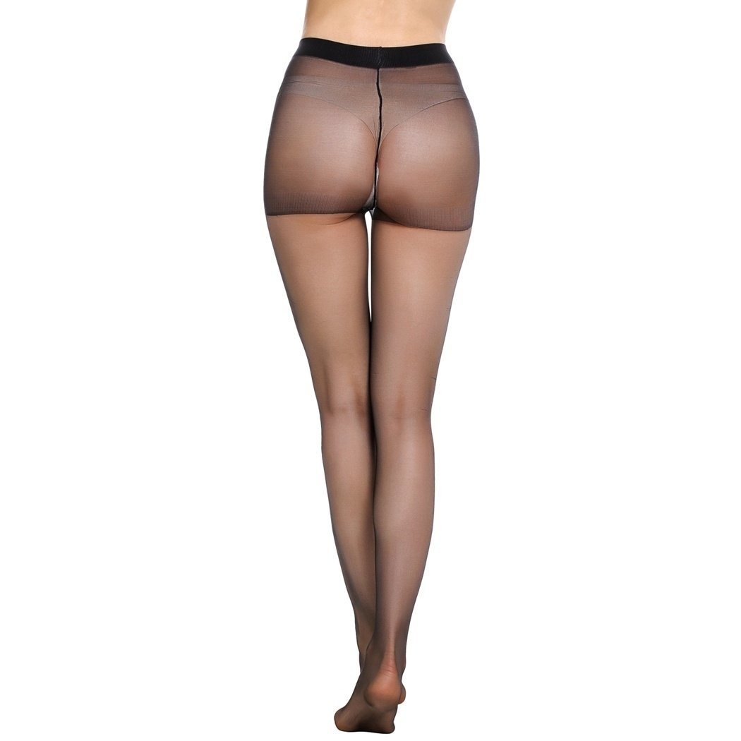 a31a79cb3 Kilimall Avidlove Pack of 3 Women Silk Reflections Control Top All Sheer  Pantyho