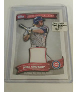 2010 Topps Peak Performance Relics #MF Mike Fontenot S2 : Chicago Cubs - $3.33