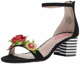 Betsey Johnson Anders Sandal Black, Size 6 - $44.54