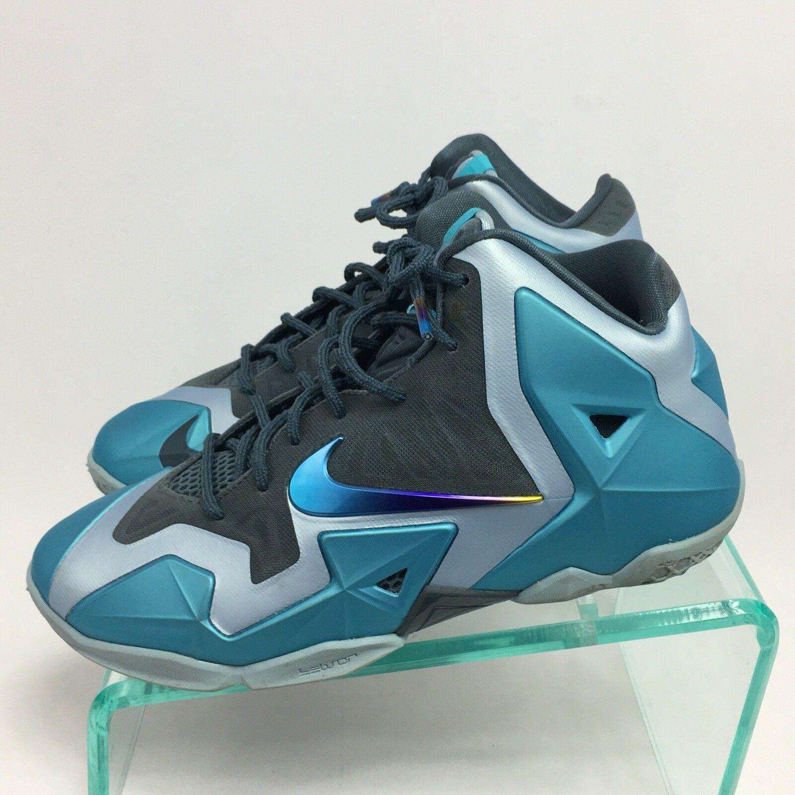 Nike Sneakers Lebron James Armory Slate Gamma Blue 7Y 621712-400 Tennis Shoes
