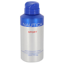 Nautica Voyage Sport Body Spray 5 Oz For Men  - $18.52
