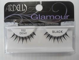 Ardell Fashion Eyelashes: Style 102 Demi Black, 1 pair - $5.99