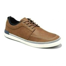 Goodfellow & Co. Bernie Brown Leather/Textile Casual Boat Shoes NWT image 1