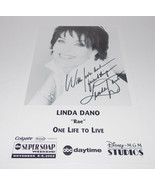 Linda Dano Autograph Reprint Photo 9x6 One Life to Live 2003 Another Wor... - $9.99