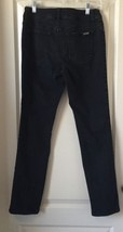 "SO SLIMMING by CHICO'S Black Stretch Denim JEANS Size 0 (Sm Size 4) 30"" ... - $9.50"