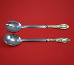 King Richard by Towle Sterling Silver Salad Serving Set Modern Custom 10... - $149.00
