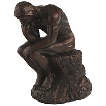 The Thinker by Rodin Reproduction Statue, 7 Inches - $36.17