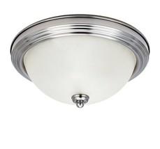Sea Gull Lighting 1-Light Holman Brushed Nickel Ceiling Flush Mount - $24.44