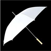 """60"""" White Wedding Umbrellas - $29.95"""