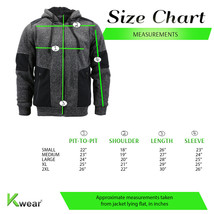 Men's Two Tone Warm Soft Sherpa Lined Moto Quilted Zipper Fleece Hoodie Jacket image 2