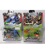 GI JOE Sigma 6 Silent Entry & Nightblade Figure Lot Set - Hasbro 2006 - $14.52