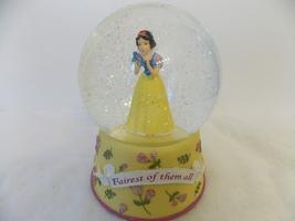 Disney Snow White Fairest of them All Musical Snowglobe - $35.00