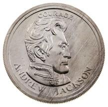 1975 Libertà Lobby Andrew JACKSON 1/2 Oz. Argento Rotondo Da Fidati come... - $34.65