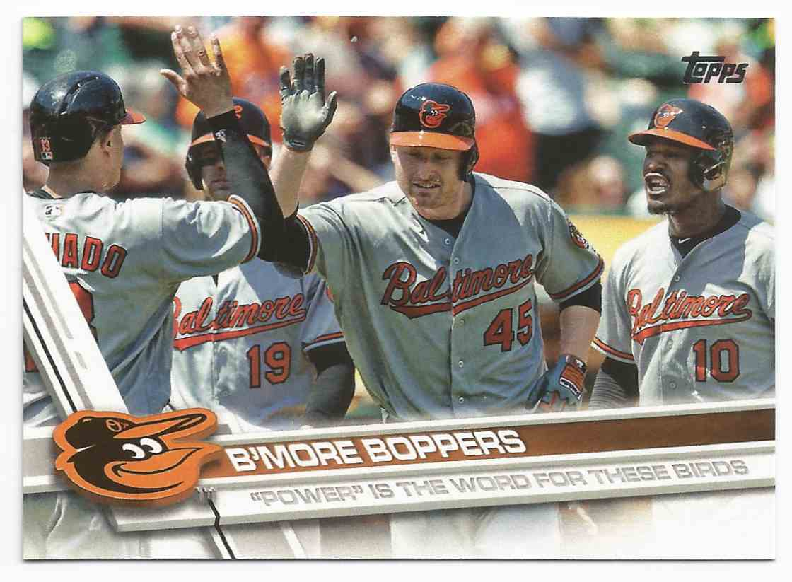 2017 topps  36 b more boppers