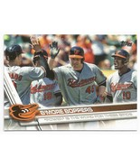 2017 Topps # 36  Manny Machado/Mark Trumbo/Adam Jones - B'more Boppers B... - $5.00
