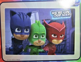Super 3D Lenticular Puzzle 18in X 12in - PJMASKS We're On Our Way! - $9.89