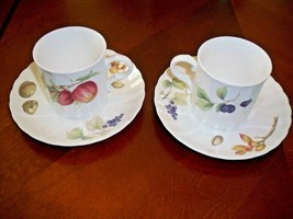 Mikasa Maxima China Belle Terre 2 Cups With 2 Saucers.  - $5.45