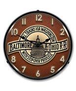 B&O Railroad 3 Lighted Clock - $129.95