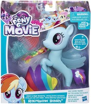 My Little Pony The Movie Glitter and Style Seapony Rainbow Dash 2017 - $12.95