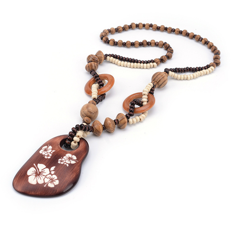 Ican flower long sweater chain pendant necklace women office lady jewelry bijoux gifts valentine