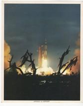 Original NASA Apollo 14th Lift Off Shepard, Roosa, Mitchell - $7.70