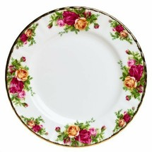 """SALAD PLATE (S) 8"""" OLD COUNTRY ROSES ROYAL ALBERT NEW - $39.37"""