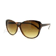 Simple Classy Sunglasses Womens Oversized Cateye Butterly - $7.95