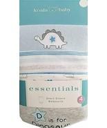 Koala Baby Essentials Short Sleeve Bodysuit Dinosaurs 4 Pack (0-3M) - $11.87