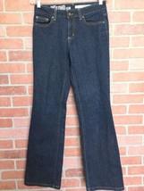 "DKNY Jeans Womens Size 6 Reg SOHO Bootcut 32"" Inseam Dark Wash EUC (FF25) - $14.84"