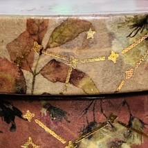 SEALED Papergeek Paper Geek 2x Fall Leaves & Constellation Washi Tape 33' Each image 2