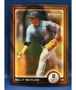 2010 Bowman Chrome (Kansas City Royals) Billy Butler Baseball Card #69 - $0.99