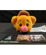 "Disney Store Authentic Muppets Fozzie bear Tsum Tsum 3.5"" plush stuff mi... - $18.99"