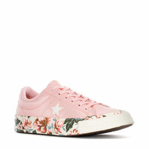 Converse Womens One Star Ox Parkway Floral Canvas Pink/Egret 262822C Szs... - $64.99