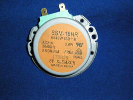 GE - Turntable Motor (WB26X10143) From GE JES1460DS3WW Microwave.GE  AAA - $15.99