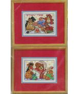 """2X Counted Cross Stitch Mini Baby Storytime & Once Upon a Time KIT 7"""" x 5"""" - $18.99"""
