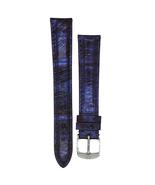 Michele 16mm Purple Genuine Snake Leather Strap MS16AA420515 Deco 16 Lilou - $37.49