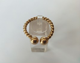 Vintage Gucci 9ct Yellow Gold Key Ring - $409.50