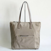 NWT MICHAEL KORS ARIANA LARGE NORTH SOUTH NYLON TOTE DUSK BEIGE - $145.12