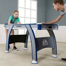 Air Powered Hockey 54inch Table w Arcade Sound Effects and All Accessories - $135.80