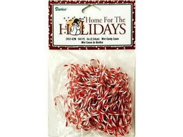 """Darice Mini Candy Canes 144 Pieces, 1"""" #245142M"""