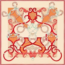 Hermes Carre 140 Stole Shawl Scarf Silk L'Instruction du Roy Henri d'Ori... - $1,419.10