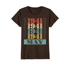 Funny Shirts - Retro Classic Vintage May 1941 77th Birthday Gift 77 yrs old Wowe image 5