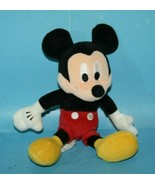 "7"" Disney MICKEY MOUSE Mini Bean Bag Plush Small Soft Toy Stuffed Animal... - $14.48"