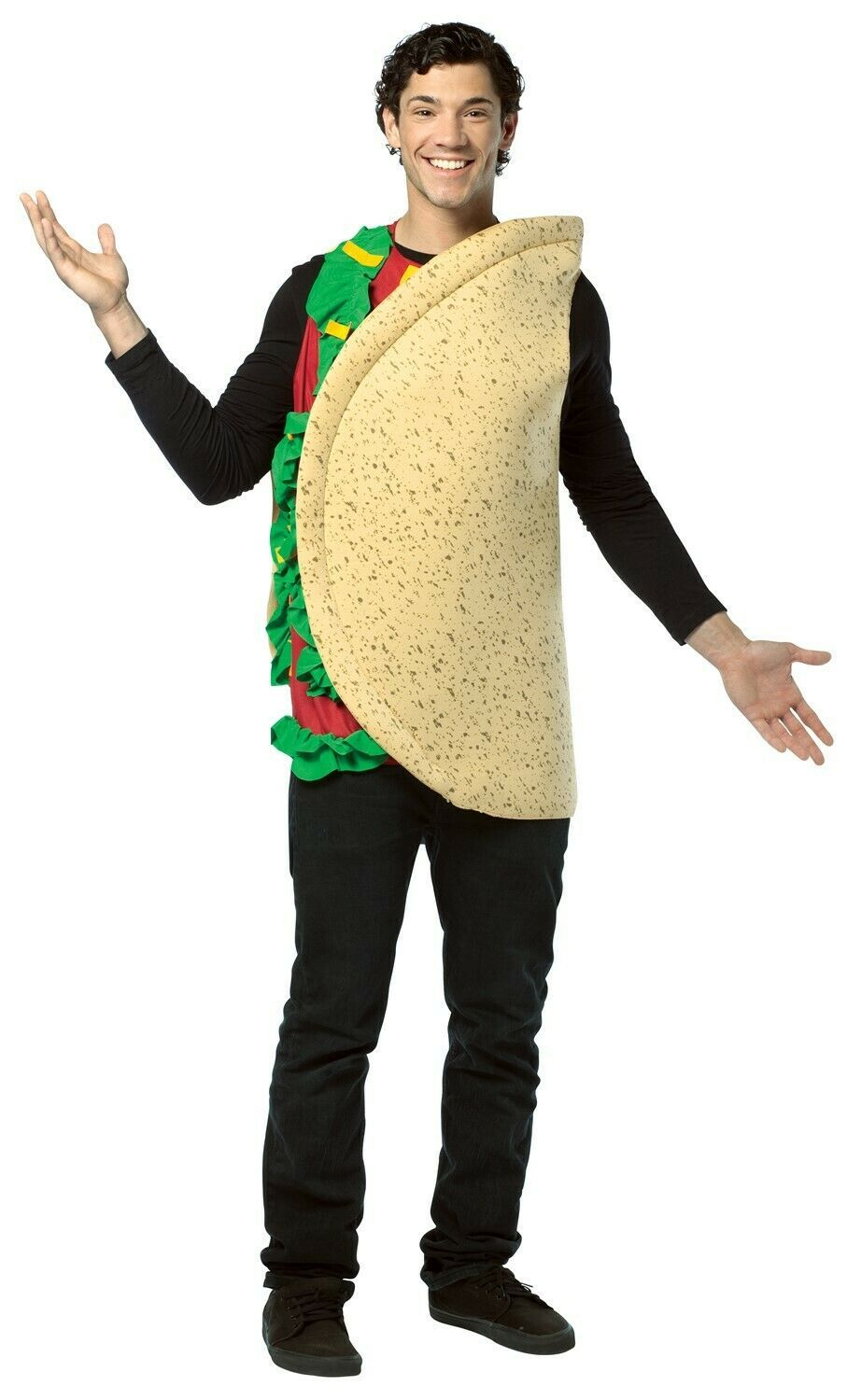 Primary image for Rasta Imposta Unisex Lightweight One Sized Multi-Colored Taco Costume