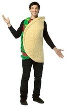 Rasta Imposta Unisex Lightweight One Sized Multi-Colored Taco Costume - $34.99