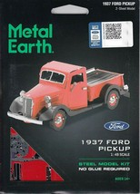 Fascinations Metal Earth 1937 Ford Pickup Laser Cut 3D MMS199 - $12.86