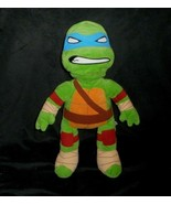 BUILD A BEAR BLUE LEONARDO TEENAGE NINJA TURTLE STUFFED ANIMAL PLUSH TOY... - $22.21