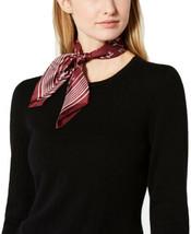 Ralph Lauren Carlotta Silk Square Scarf (Malbec) - $32.57