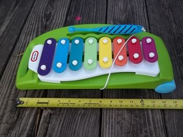 Little-Tikes-Tap-a-Tune-Xylophone, wheels, green - $8.24
